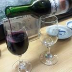 七ッ半 - 「月山ワイン 豊穣神話 ヤマソービオン」」