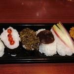白井宿ふるさと物産館 - 料理写真:幻の寿司 山菜寿司360円