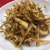 ピカイチ - 料理写真:ごぼうと細切り肉の炒め