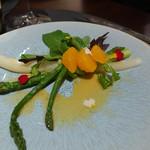ル・プティ・ブドン - アスパラガスの前菜