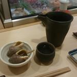 小かん鮨 - 冷酒&お通し