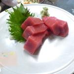 恕庵 - お造り(鮪)
