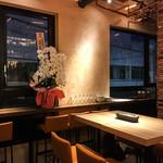 ギンザ オリーバル - お店の内装(2F)