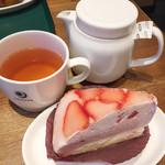 プロント - いちごのムースケーキ
