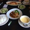 四季彩 - 料理写真:此れにコーヒーとアイスが付いて、2人で1940えん 修行したのがフランス料理店、安過ぎ…(^^)