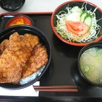 ヨーロッパ軒 - カツ丼セット 1130円