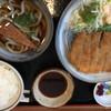 弁慶 - 料理写真:とんかつランチ