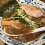 64286459 - 【2017.3.16】魚薫(さかなくん)ラーメン¥750