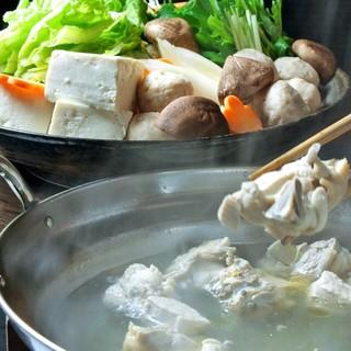 博多地鶏使用!自家製スープの【博多水炊き】