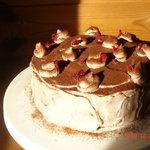 カフェトゥーリー - 甘さがほんのり(#^.^#)手作りチョコレートケーキ☆