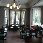 サロンドカフェアンジュ  - カフェの アンジュ   客は私たちだけ  貸し切りです♪