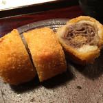 祇園ろはん - 牛のしぐれ煮コロッケ