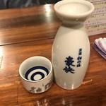 酒蔵大沼 - 日本酒熱燗300円