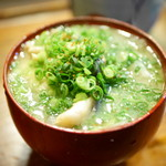 江戸富士 - 限定の魚汁