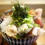 江戸富士 - 海鮮どん