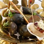 ビストロ ダイア - どれが料理で、どれが石か見分けがつきますか???