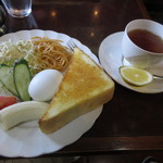 ブラジル - 料理写真:モーニングセット 550円 (2017.3)