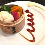 64297846 - 三浦の朝獲り蒸し野菜