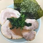 横浜家系ラーメン 田中 - チャーシューめん 並