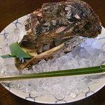 """千松しま - 天然物の""""牡蠣""""。なんと八年ものですぞー。"""