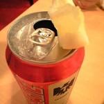 ロシータ - メキシコビール 粗塩とレモンを添えて 600円