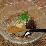 千松しま - 水菓子。