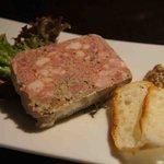 炭焼きBAR 倉庫 - 田舎風豚肉のテリーヌ