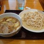 武蔵野うどん うまかっぺ 川口駅東口店 - 肉ねぎ汁付けうどん