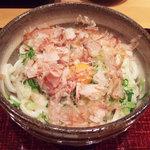 悠讃 - 釜玉(530円)