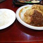 6430350 - ジャンボチキンカツ定食