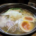 ひさし鍋焼ラーメン - 鍋焼きラーメン