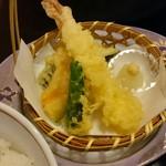 鯛家 - 天ぷら