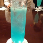ホテルクラウンパレス北九州 バー ラウンジ - ドリンク写真:「チャイナブルー」1200円