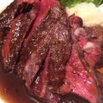 64303064 - ハラミ肉プレートのハラミ肉100g