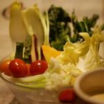 64303173 - 鎌倉野菜のこだわりバーニャ・カウダ