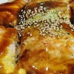 広島風お好み焼き れもん - 明太チーズ(そば):アップ