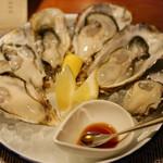 スパイラル - 本日の真牡蠣6種類食べ比べ