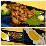 64303454 - ◆ホタルイカ酢味噌和え(680円)・・ホタルイカがタップリで嬉しいですね。下処理も丁寧にされていました。 酢味噌もいいお味。