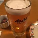 いろり - 生ビール中
