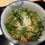 蕎麦処 グレゴリー - 生パクチー蕎麦780円