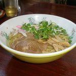 中華の宝華 - 宝ソバ(油ソバ) 650円