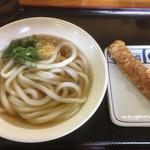麺通堂 - 料理写真:かけうどん(*゚∀゚*)180円