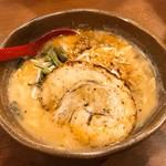 麺場 田所商店 - 信州味噌ラーメン(炙りチャーシュートッピング)