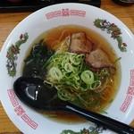 麺処 天天 - 料理写真:ランチセット(500円)のラーメン