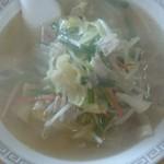大黒屋 - 湯麺450円