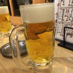 立ち呑み 卯の助 - 生ビール