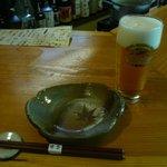 申子 - 生ビールはキリンの一番搾り