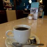 純喫茶マリーナ - ランチのセットコーヒー