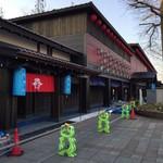 ラボラトリーノ - 帰りに写した西武秩父駅前の新しい建物!デカイ。 旧仲見世商店街がこんなに変身。