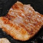 肉の館 羅生門 - 黒毛和牛のカルビ